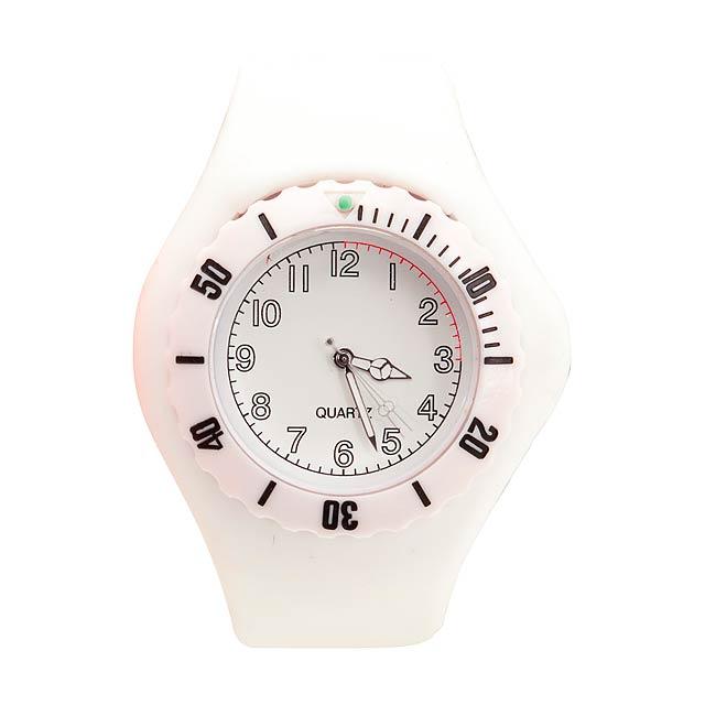 Trepid hodinky - biela
