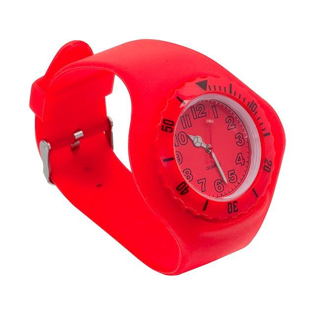 Trepid hodinky - červená