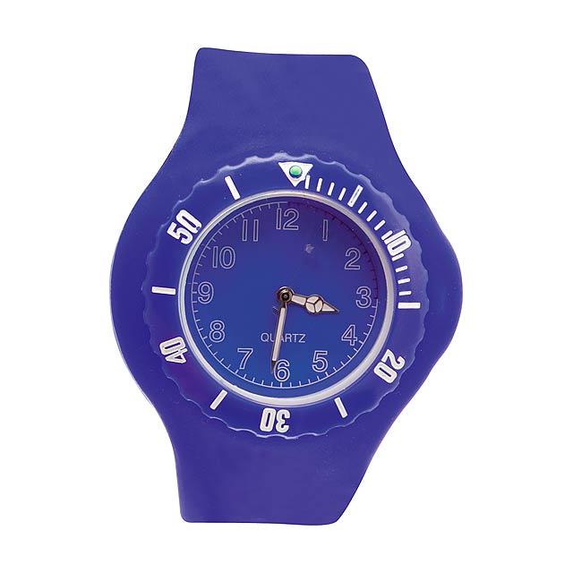 Trepid hodinky - modrá