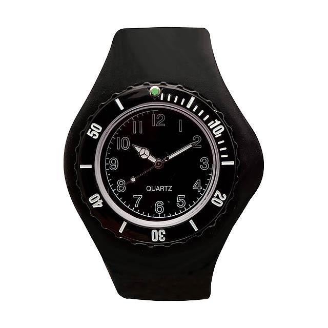 Trepid hodinky - čierna
