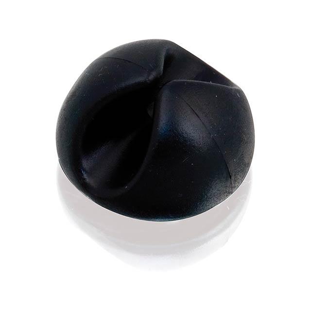 Mita držák na kabel - černá