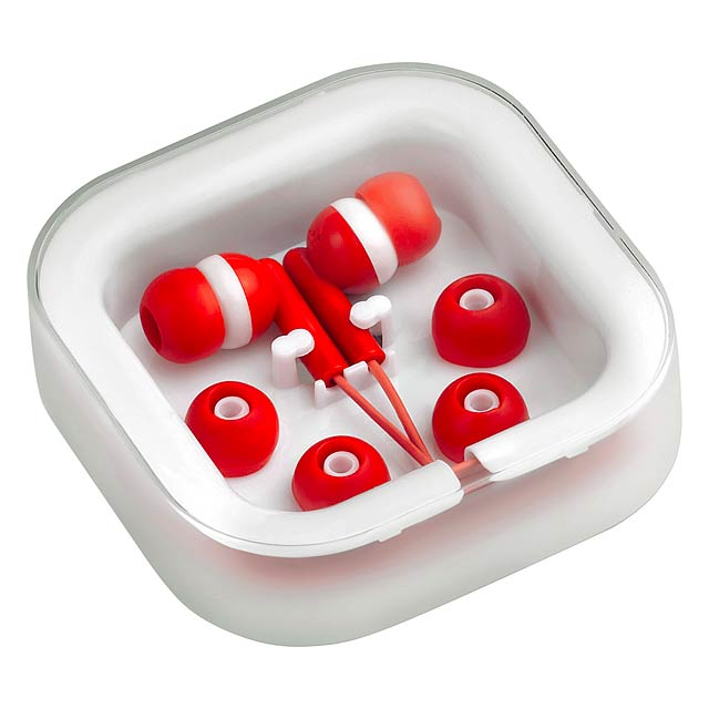 Earphones - red