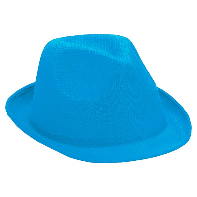 Braz klobouk - nebesky modrá