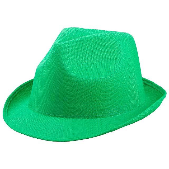 Braz klobouk - zelená