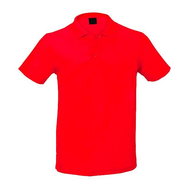 Tecnic P pólo - červená