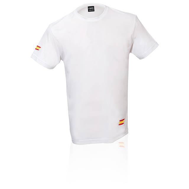Bandera funkční tričko  - bílá
