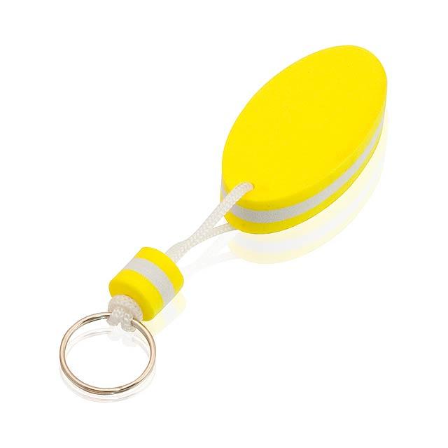 Soke přívěšek na klíče - žlutá