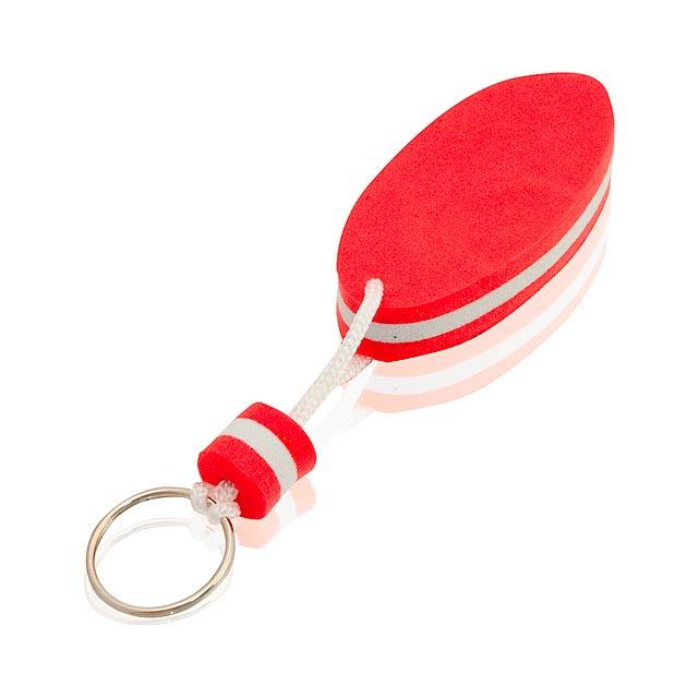 Soke přívěšek na klíče - červená