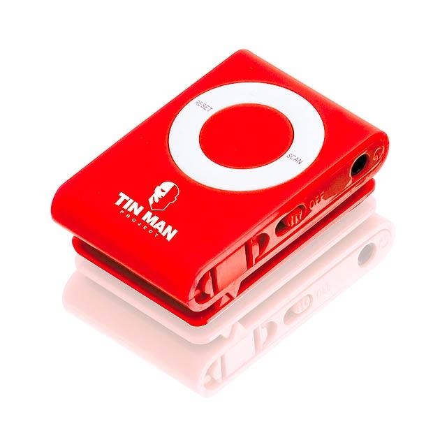 Probe mini rádio - červená