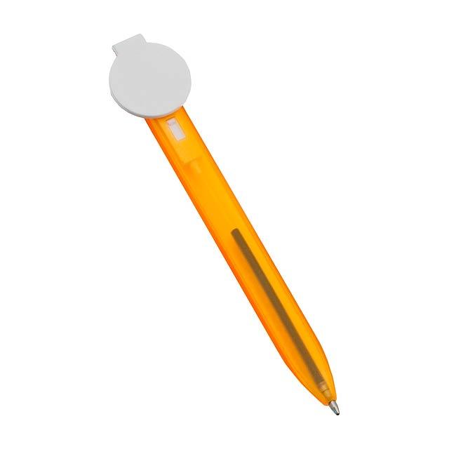 Toble kuličkové pero - oranžová