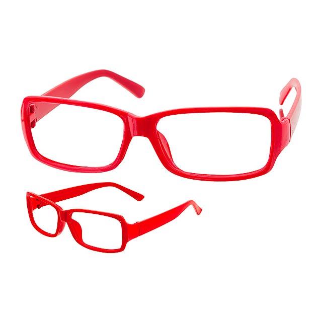 Martyns obroučky brýlí - červená