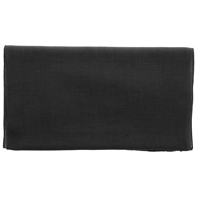 Instint šátek - černá
