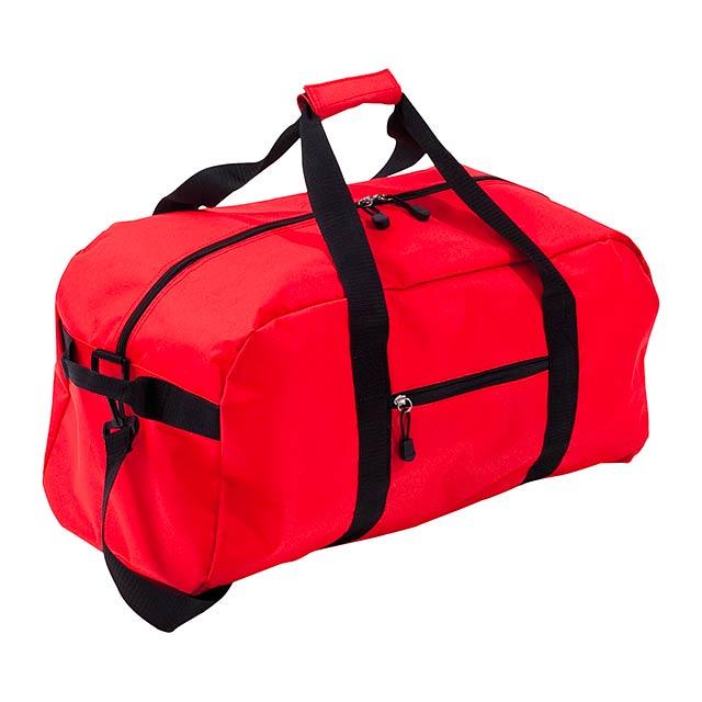 Drako sportovní taška - červená