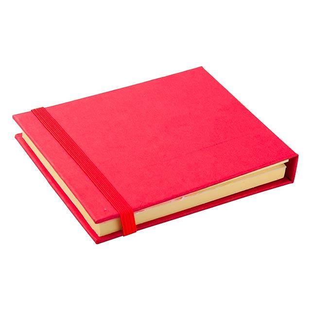 Foli poznámkový blok - červená