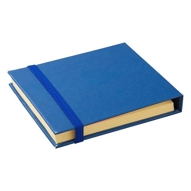 Foli poznámkový blok - modrá