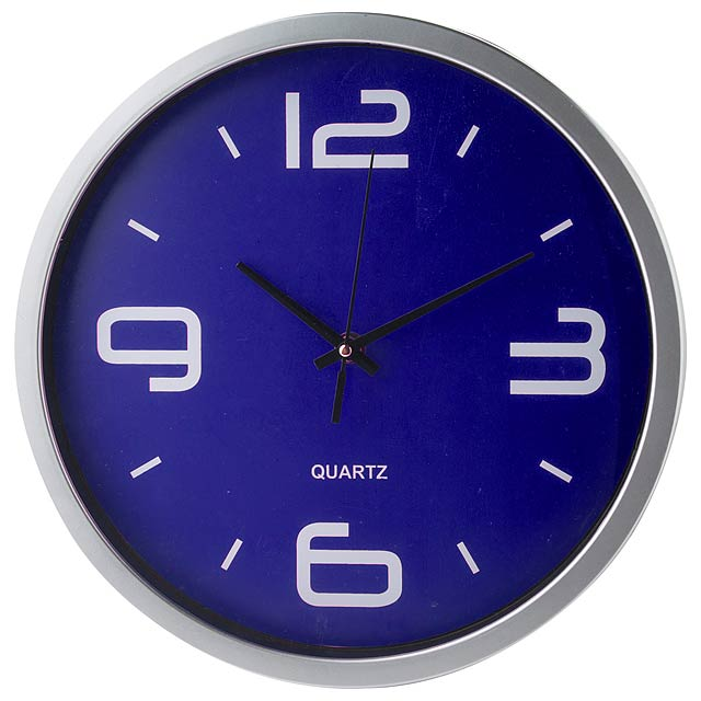 Cronos nástěnné hodiny - modrá