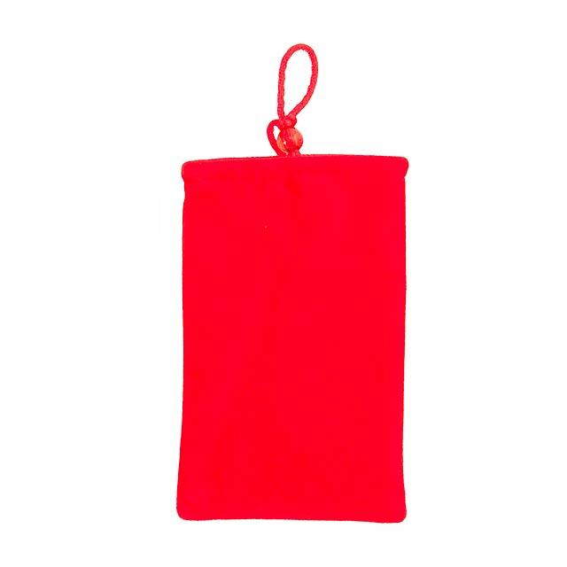 Mim pouzdro na mobil - červená