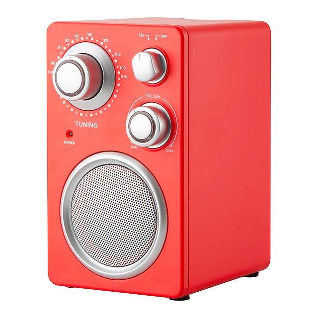 Tuny rádio - červená