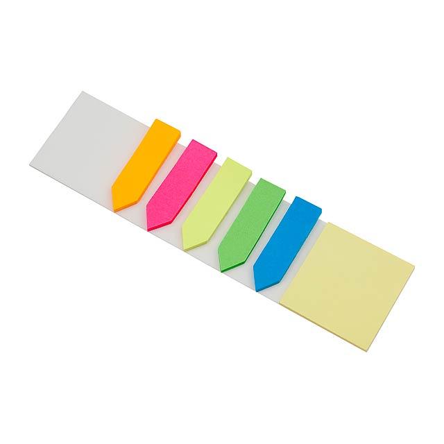 Nolar lepicí papírky - multicolor