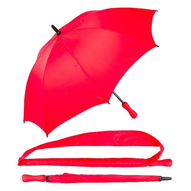 Kanan deštník - červená
