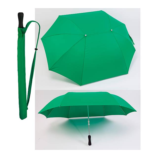 Siam deštník - zelená