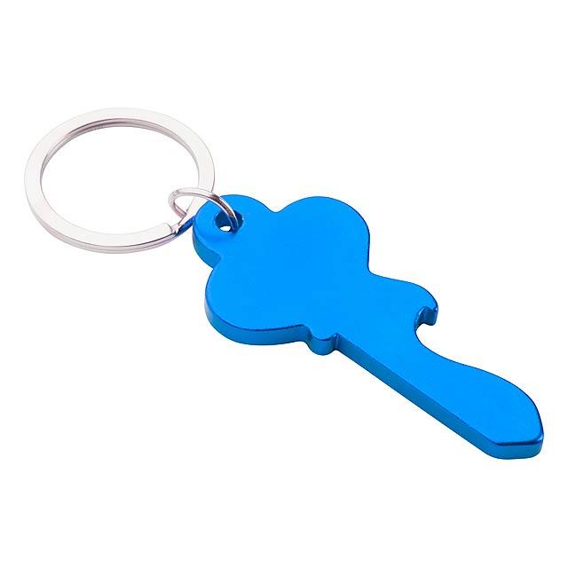 Cliff přívěšek na klíče - modrá