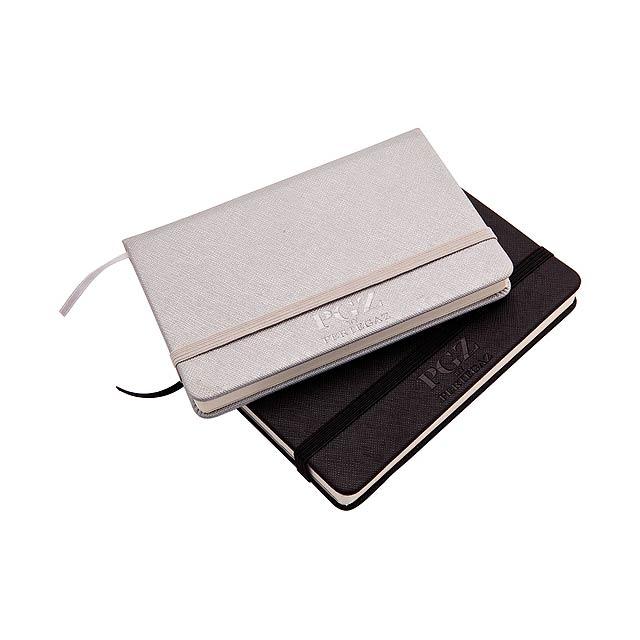 Hertes zápisník - stříbrná