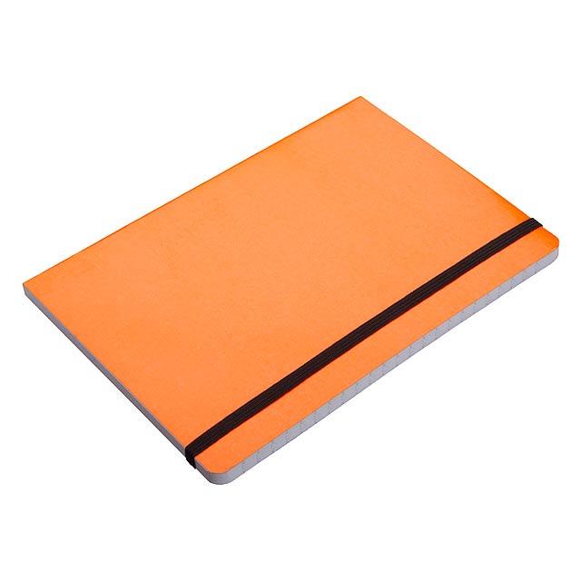 Lamark zápisník - oranžová