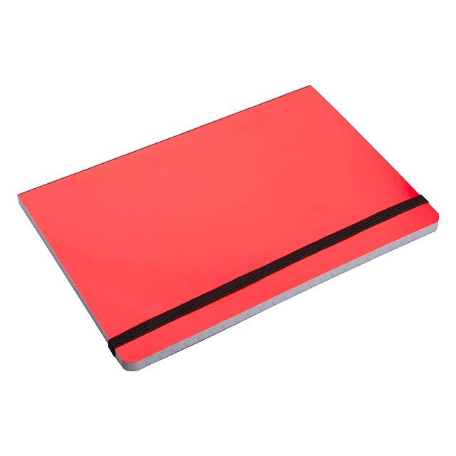 Lamark zápisník - červená