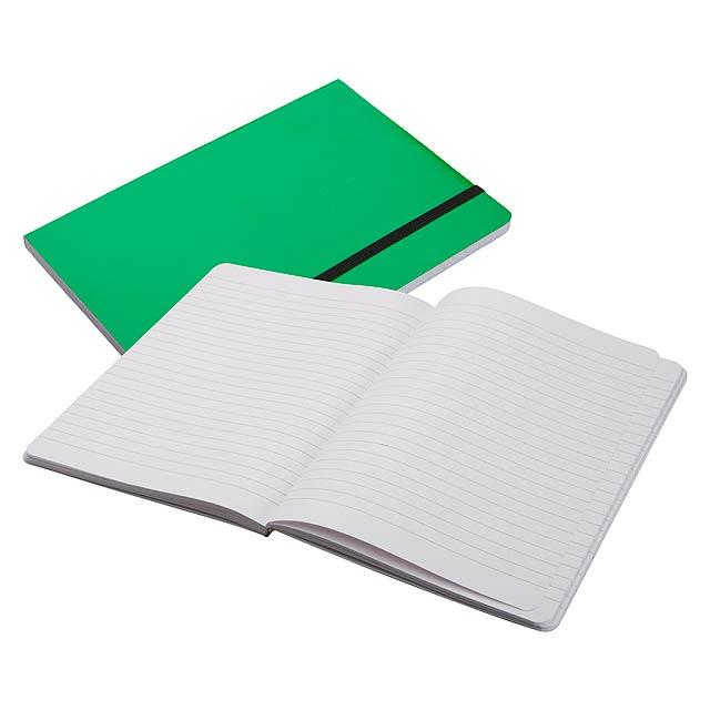 Lamark zápisník - zelená