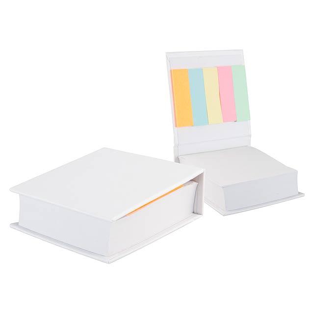 Codex poznámkový blok - bílá