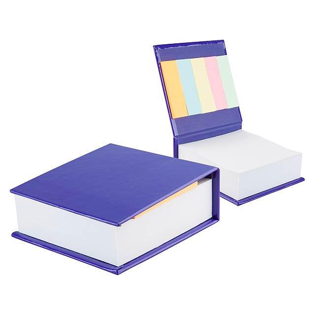 Codex poznámkový blok - modrá