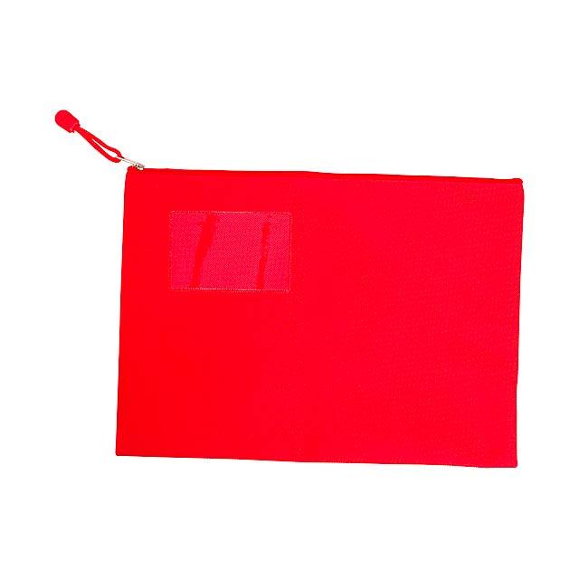 Galba document holder - červená