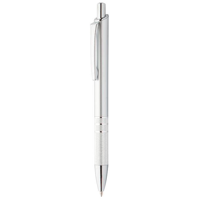 Lane kuličkové pero - stříbrná
