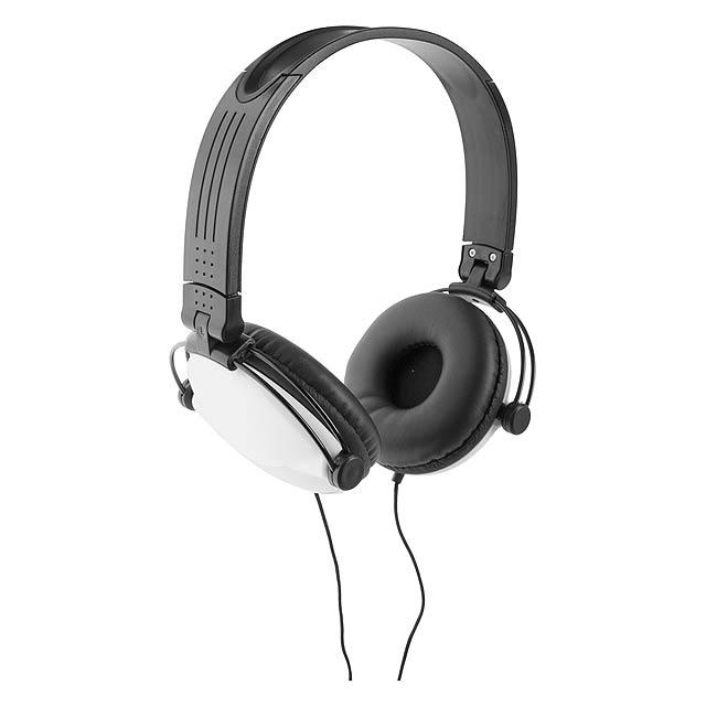 Rem sluchátka - bílá