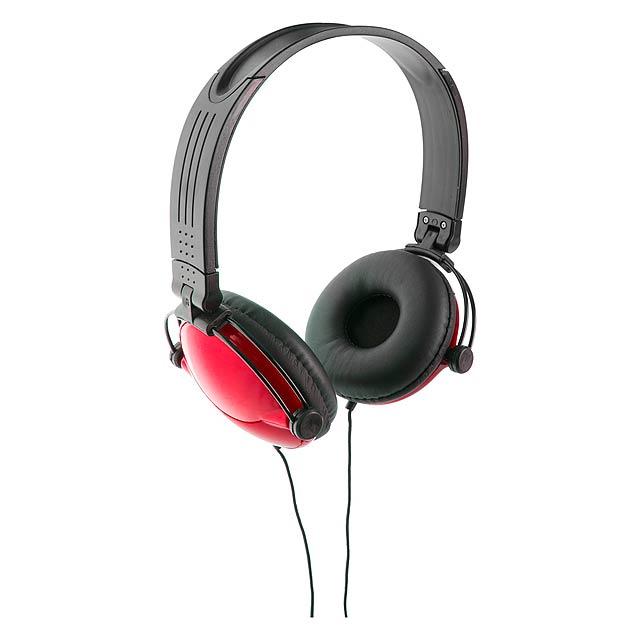 Rem sluchátka - červená