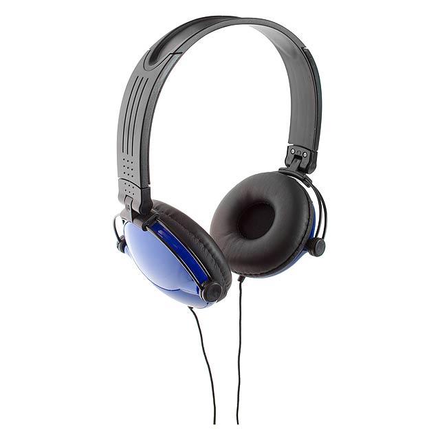 Rem sluchátka - modrá
