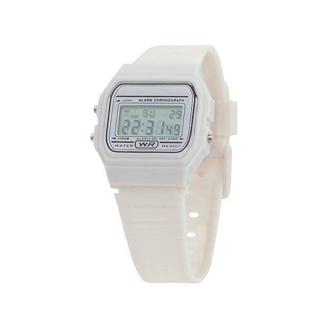 Kibol hodinky - bílá