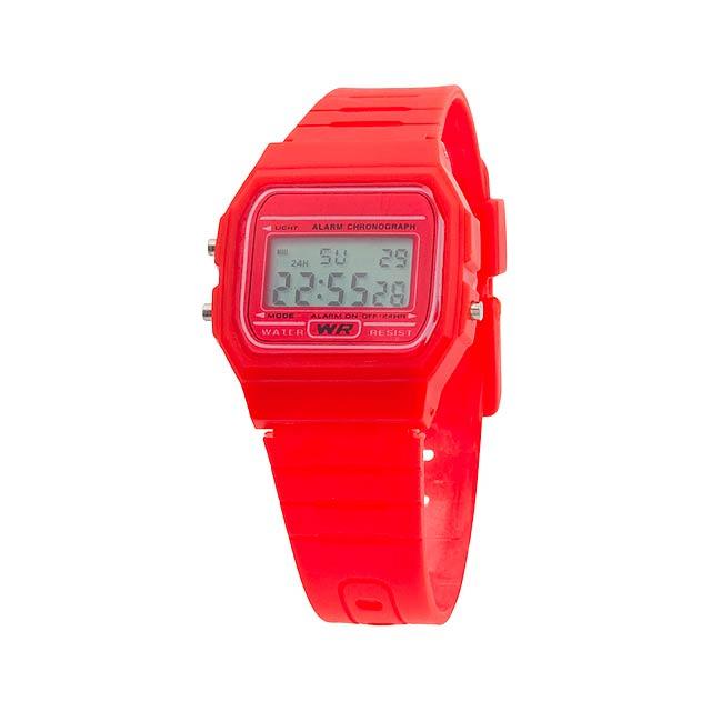 Kibol hodinky - červená