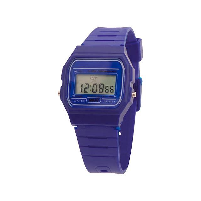 Kibol hodinky - modrá