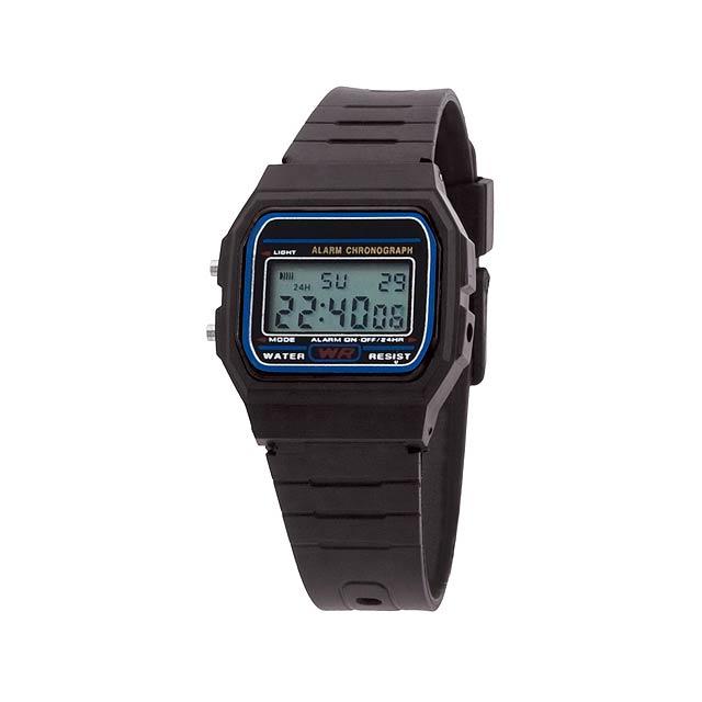 Kibol hodinky - černá