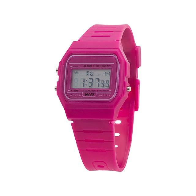 Kibol hodinky - fialová