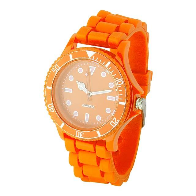 Fobex hodinky - oranžová