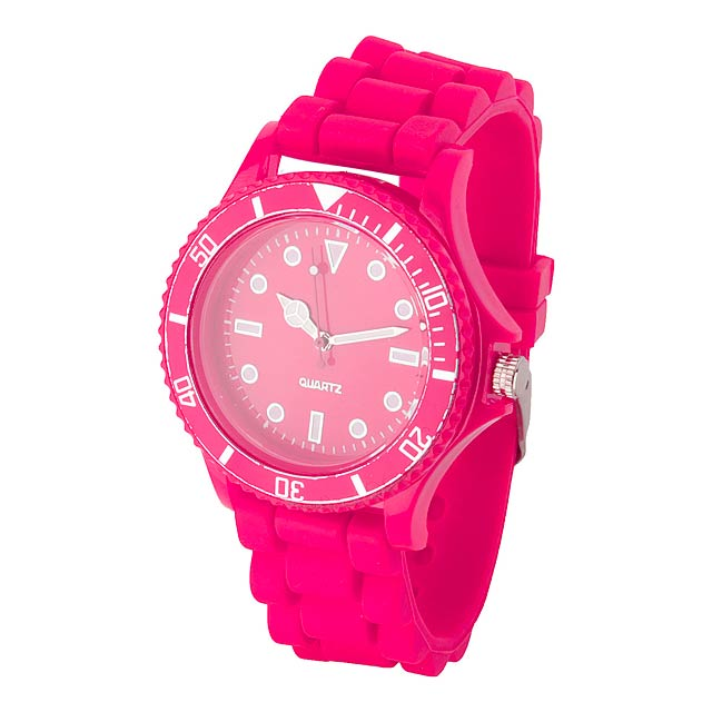 Fobex hodinky - fuchsiová (tm. růžová)