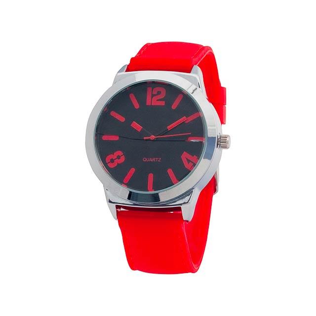 Balder hodinky - červená
