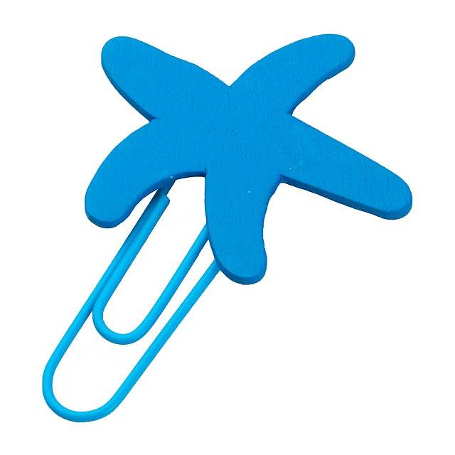 Tura sponka - modrá