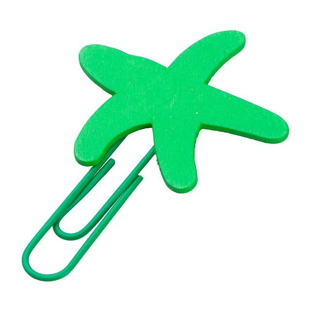 Tura sponka - zelená