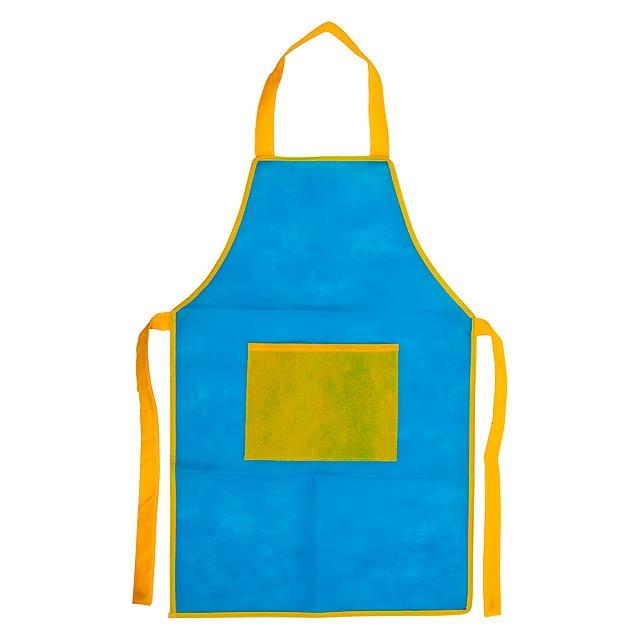 Nono zástěra pro děti - modrá