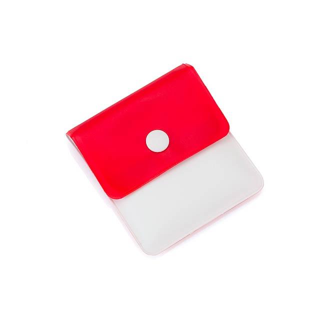 Kyan kapesní popelník - červená