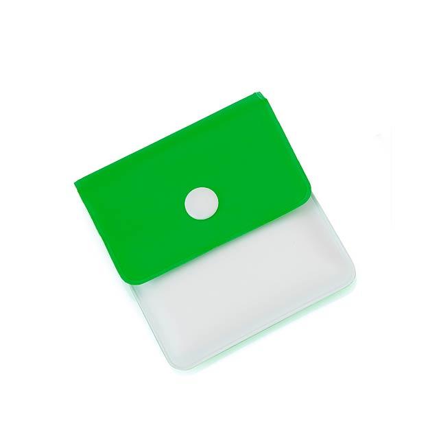 Kyan kapesní popelník - zelená